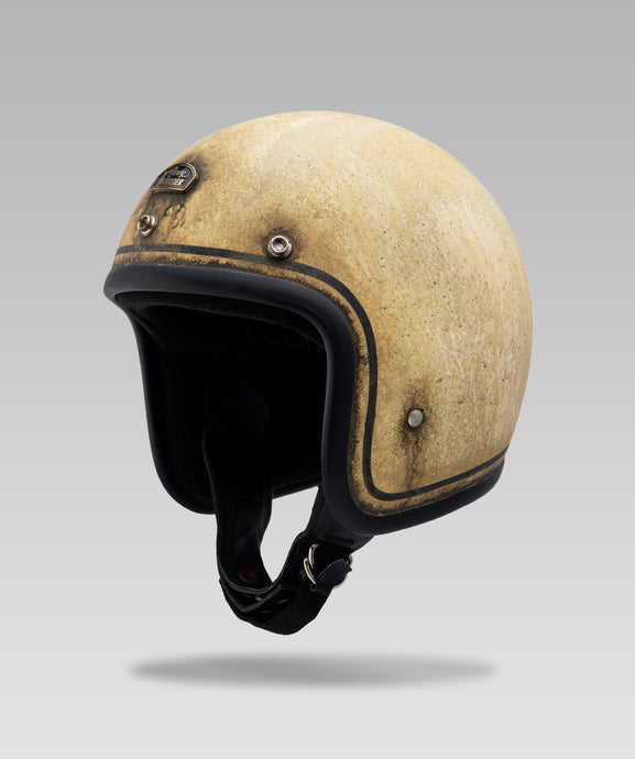 The Roaring Frontier Open Face Helmet