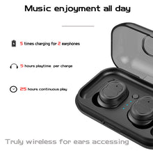Load image into Gallery viewer, TWS-8 Wireless Bluetooth Earphone Mini Headset Touch Control Bluetooth V5.0 Stereo In-Ear Earbuds for Iphone 7 IOS Xiaomi Phone