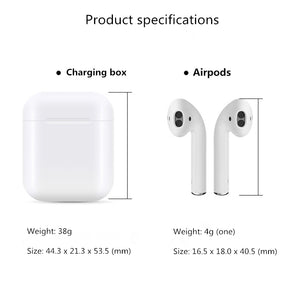 1:1 for air pods Pop-up window version has animation Wireless bluetooth earphone for iphone Double ear with charging box