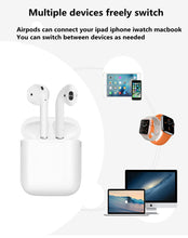 Load image into Gallery viewer, 1:1 for air pods Pop-up window version has animation Wireless bluetooth earphone for iphone Double ear with charging box
