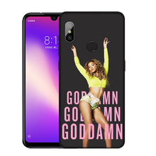 Load image into Gallery viewer, Beyonce Soft Silicone Phone Case for Xiaomi Redmi Note 8 8T 8A 7 7A 6 6A 5 5A K30 K20 Pro GO S2 Cover