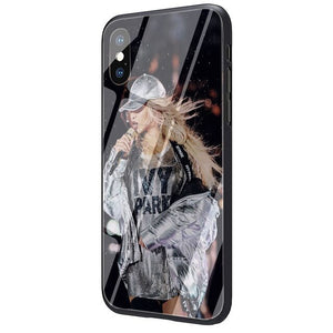 Beyonce Jay Z OTR II Tempered Glass Phone Cover Case for iPhone SE 2020 5 5s 6 6s Plus 7 8 Plus X XR XS 11 Pro Max