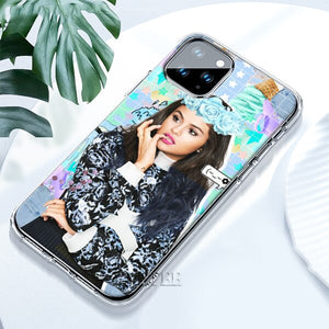 sexy Selena Gomez TPU Cases for iPhone 11 Pro Max X XR XS MAX 7 8 Plus 6 6S Plus 5S SE Soft Sillicone Cover