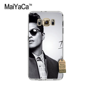 MaiYaCa Bruno Mars 24K Magic Uptown transparent soft Phone Case for samsung galaxy s7 edge s6 edge plus s5 s4 s8 plus case
