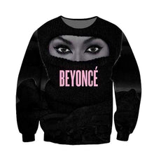 Load image into Gallery viewer, Women Men Trill Yonce Queen Bey Beyonce Legendary Singer 3D Sublimation print Sweatshirt Crewneck Sweats Jumper Plus Size