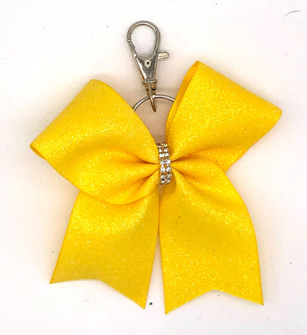 Yellow Bag Charm/ Keychain