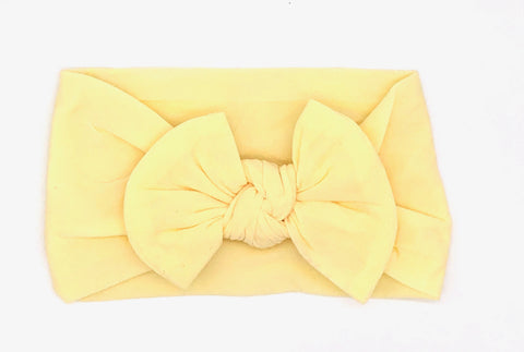 Yellow Soft Baby Headband