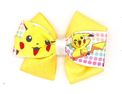 Pikachu Hair Bow
