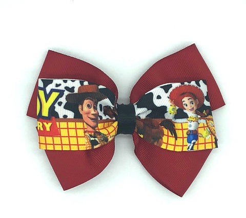 Toy Story Hair Bow on Clip