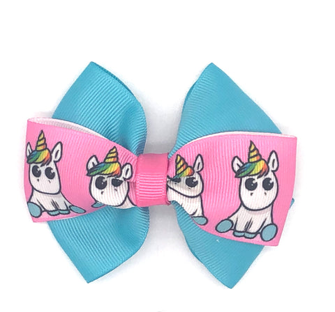 Unicorn Hair Bow