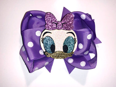 Daisy Duck Hair Bow