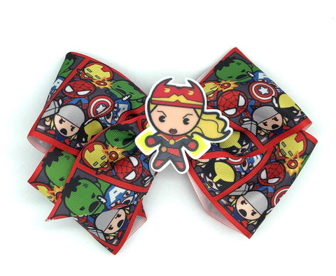 Avengers Bow on clip Captain Marvel