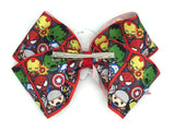 Avengers Bow on clip Spider-Man