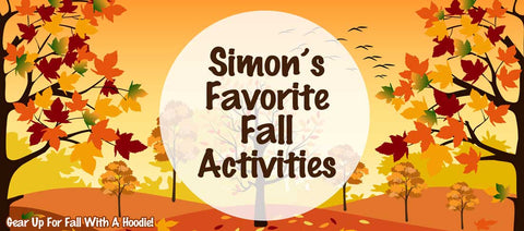 Simons favorite fall activities