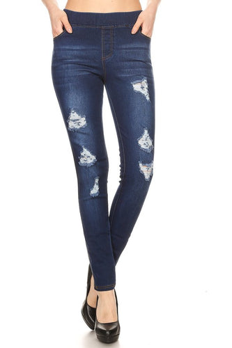 Just a little Sass Jegging - Cup of Tea Boutique