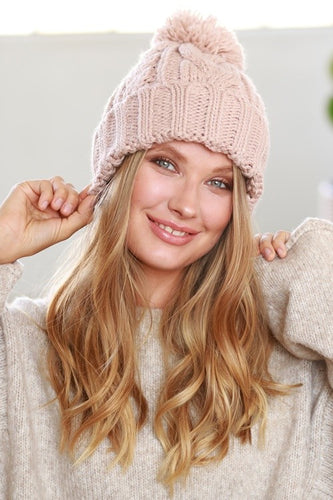 Take Me to the Ski Slop Beanie - Cup of Tea Boutique