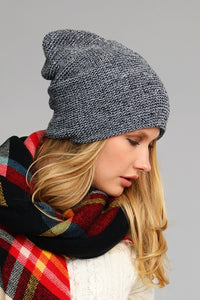 Slouchy Knit Beanie - Cup of Tea Boutique