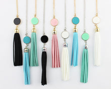 Load image into Gallery viewer, Tassel Me Some Happiness Necklace - Cup of Tea Boutique
