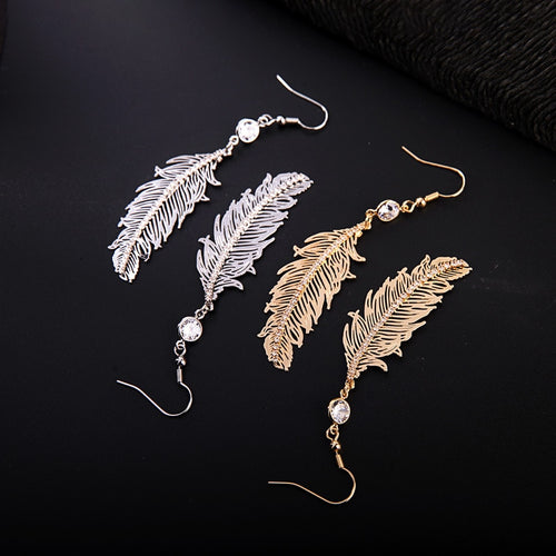 Come Fly Away with Me Feather Earrings - Cup of Tea Boutique