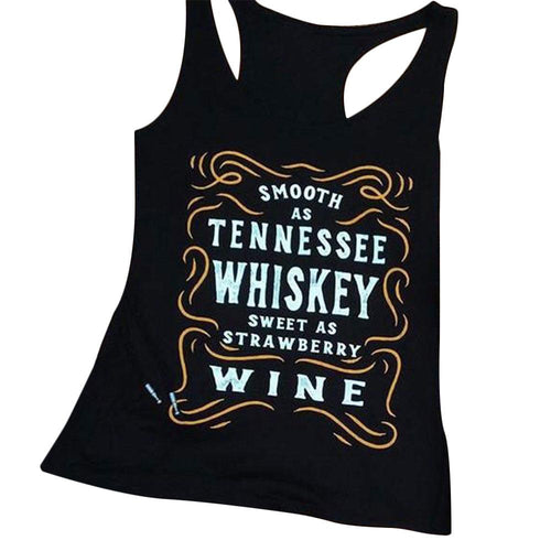Smooth As Tennessee Whiskey Tank Top - Cup of Tea Boutique
