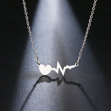 Load image into Gallery viewer, Beating of My Heart Pendant Necklace - Cup of Tea Boutique