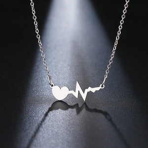 Beating of My Heart Pendant Necklace - Cup of Tea Boutique