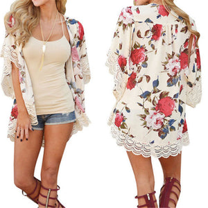 Take Me to the Park Kimono - Cup of Tea Boutique