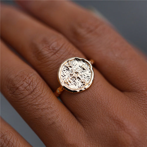Vintage Coin Ring - Cup of Tea Boutique