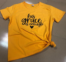Load image into Gallery viewer, His Grace is Enough Tee - Cup of Tea Boutique