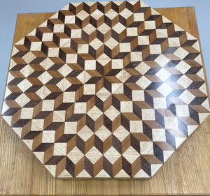 Carpenters Wheel Lazy Susan - Nedeljko Woodworks