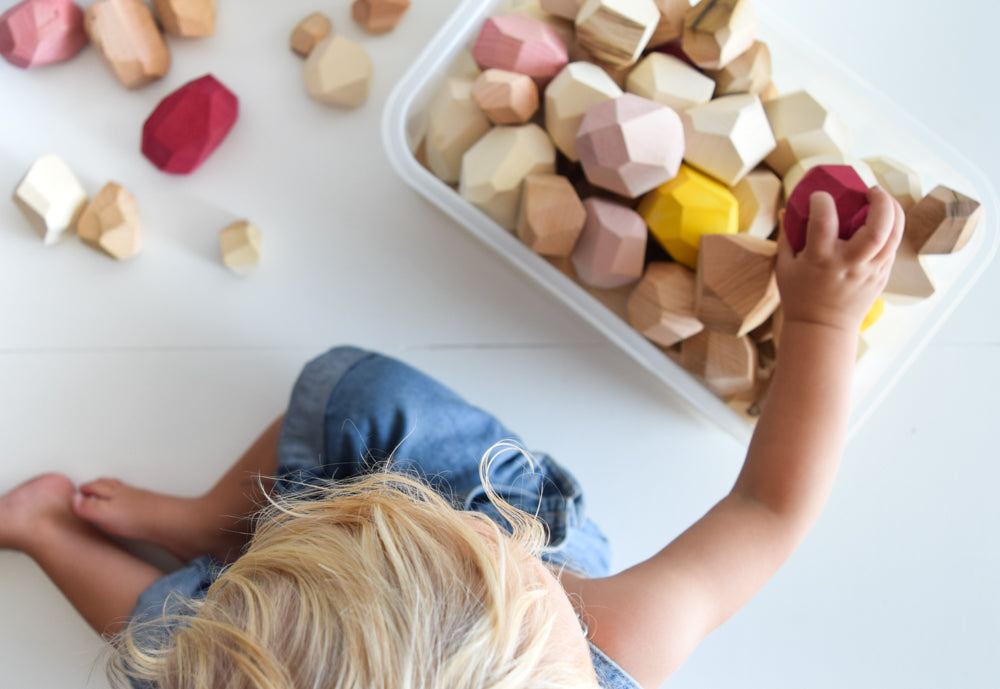 Toddler Toys: Rock Blocks.