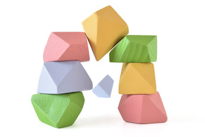 Bright | 8 Set of Rock Blocks