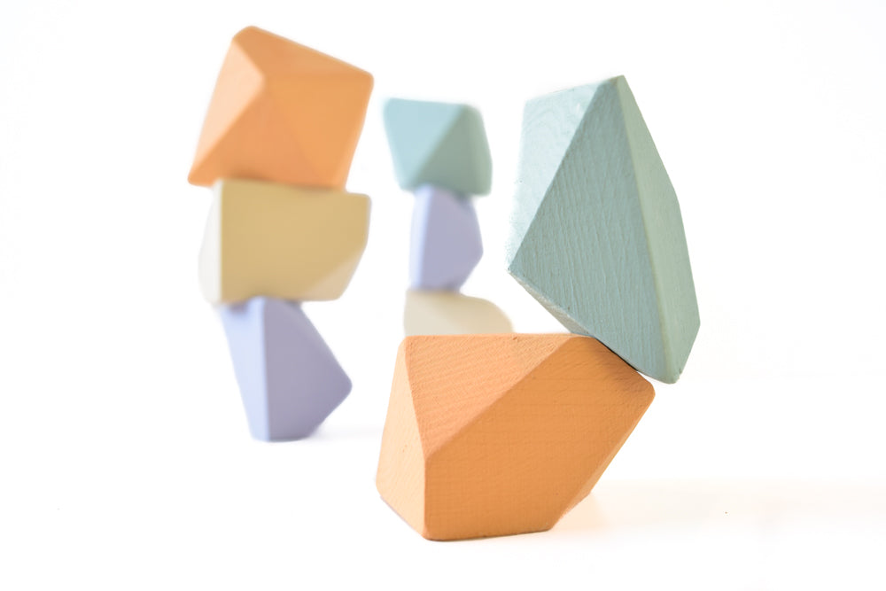 Sherbet | 8 Set of Rock Blocks