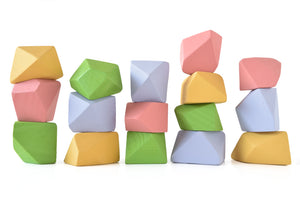 Bright | 16 Set of Rock Blocks
