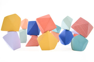 Confetti | 16 Set of Rock Blocks