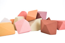 Load image into Gallery viewer, Peach | 16 Set of Rock Blocks