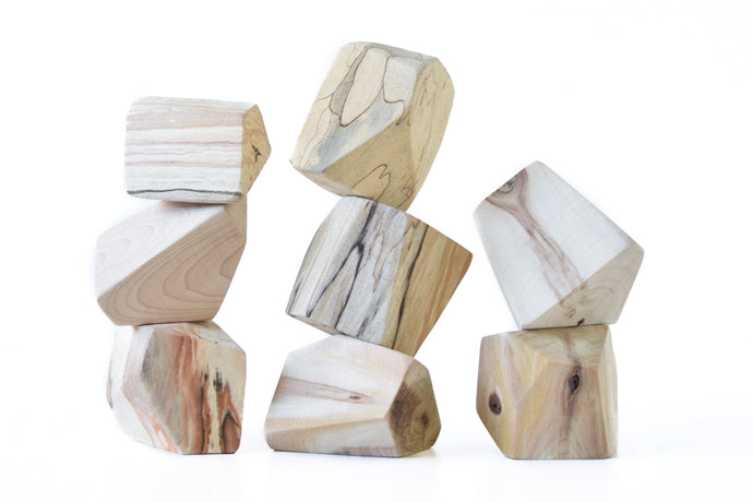 Driftwood | 8 Set of Rock Blocks
