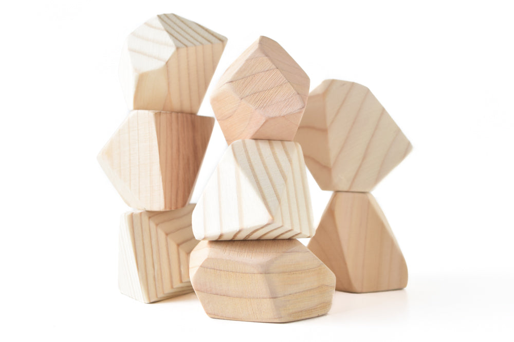 Natural | 8 Set of Rock Blocks