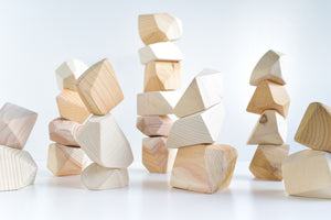 Natural | 24 Set of Rock Blocks
