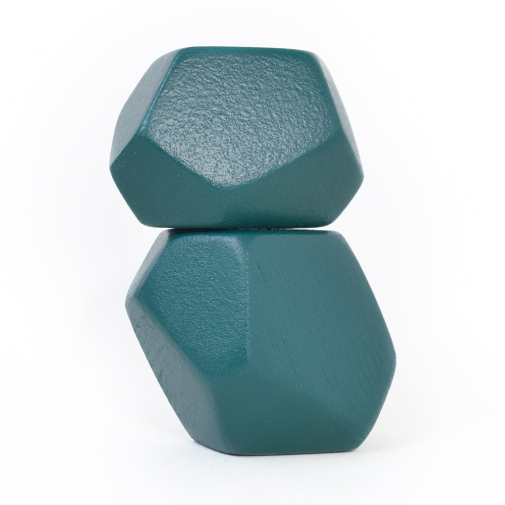 Dark Green Rock Blocks