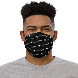 true athelite - Elite Pattern Face Mask