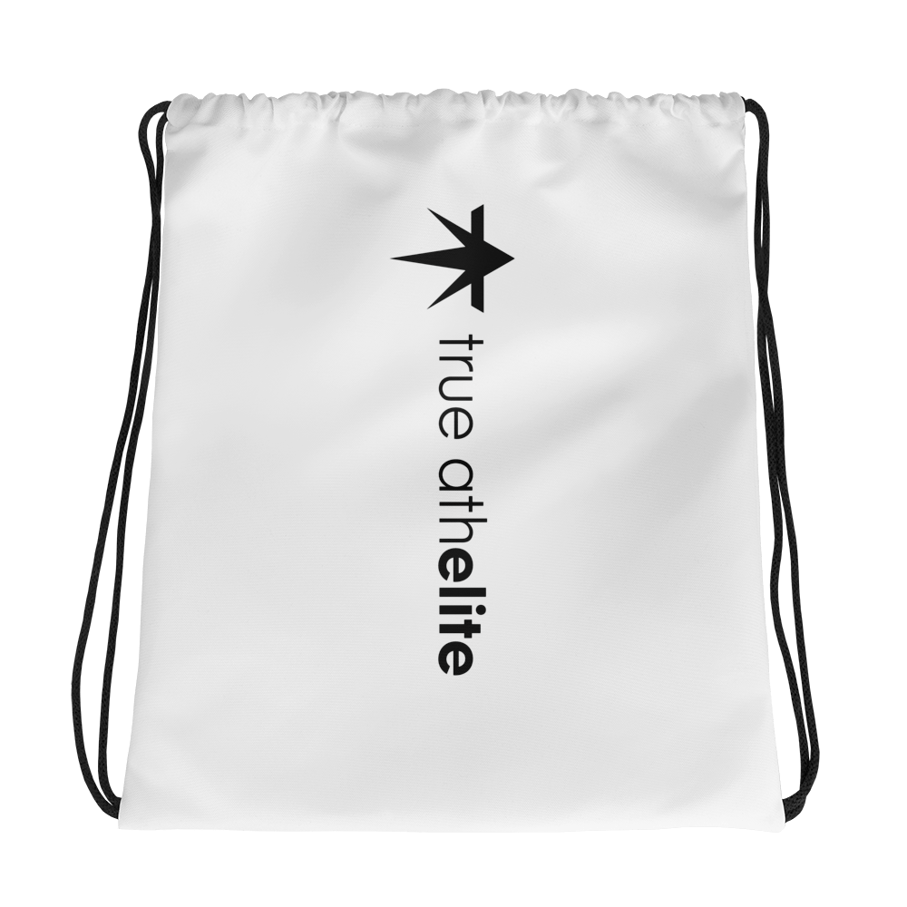 true athelite - Center Drawstring Bag