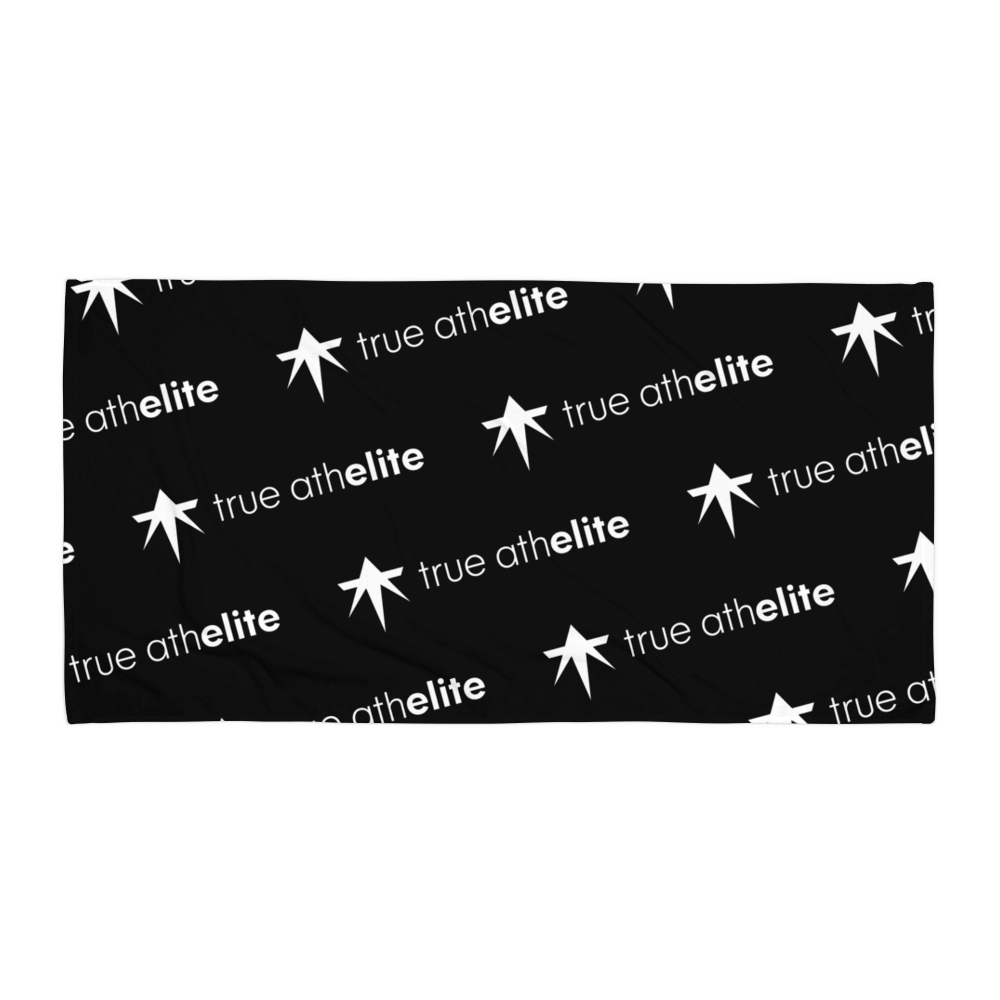 true athelite - Black Towel