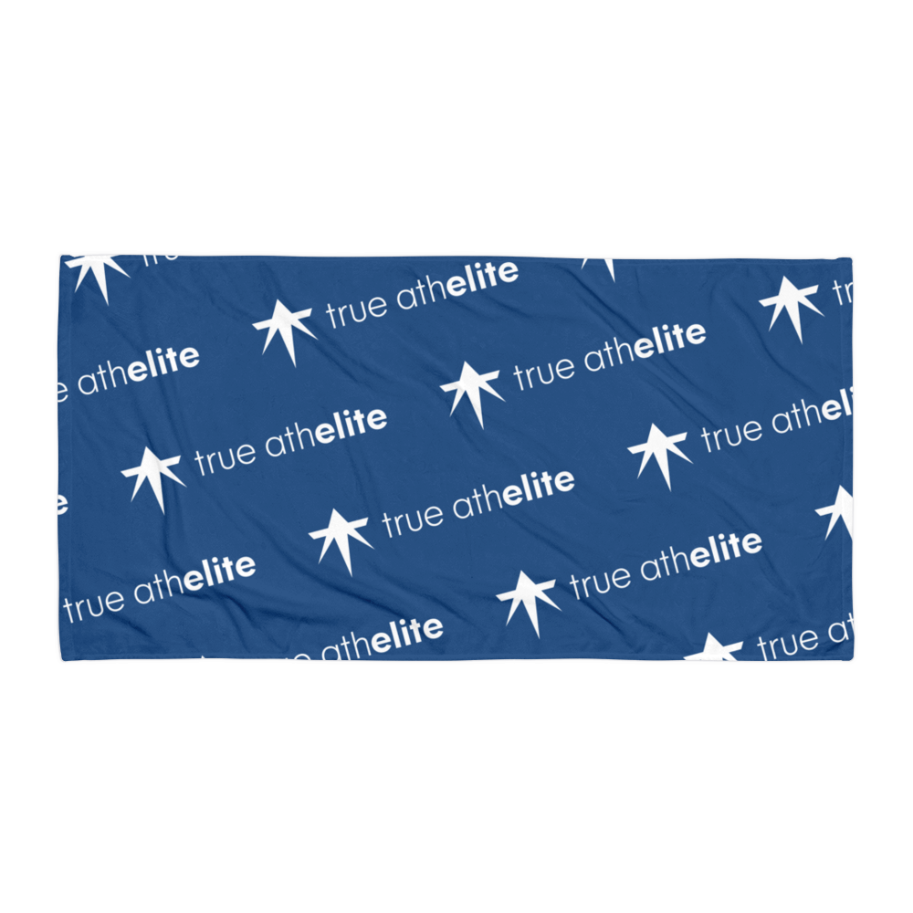 true athelite - Blue Towel