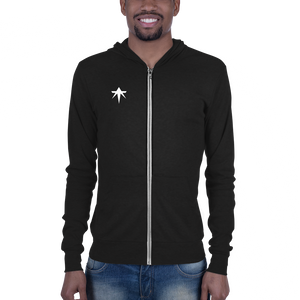 true athelite - Star Zip-Up Hoodie