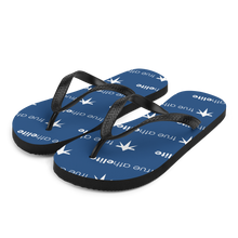 Load image into Gallery viewer, true athelite - Blue Flip-Flops