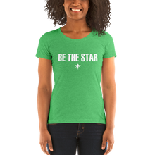 Load image into Gallery viewer, Be The Star - ta Ladies' Short Sleeve T-Shirt