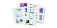 Standard YouTube Thumbnail Templates - The YouTube Starter Bundle