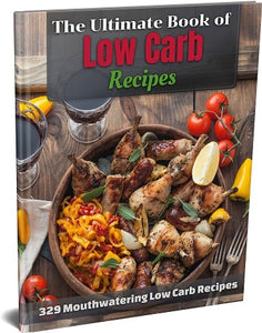 The Ultimate Book Of Low Carb Recipes