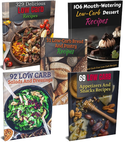 Low-Carb Recipes Bundle